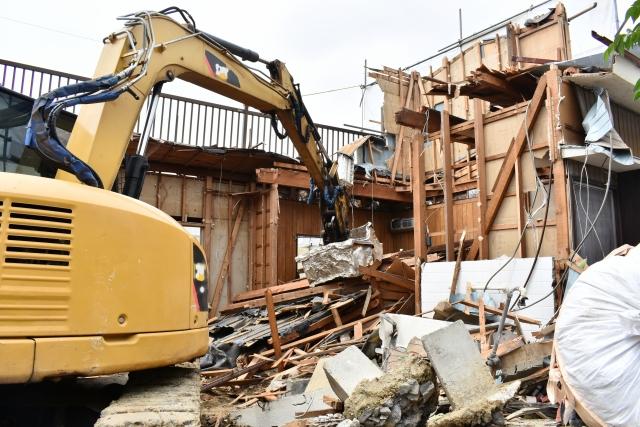 建物の解体時に注意するポイント!
