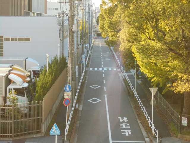 前面道路の幅の目安について